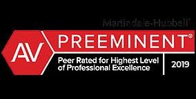 Martindale-Hubbell AV Preeminent 2019